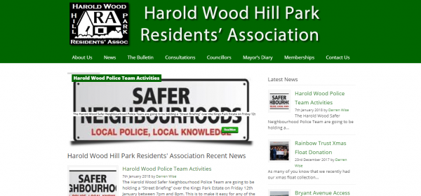 Harold Wood Residents Association