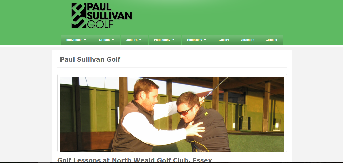 Paul Sullivan Golf
