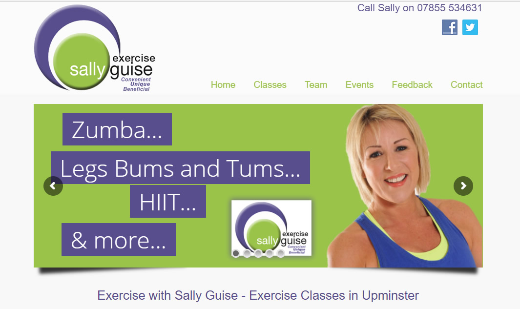 Exercise With Sally Guise