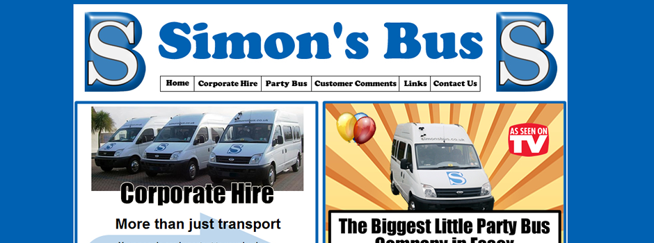 Simons Bus Website