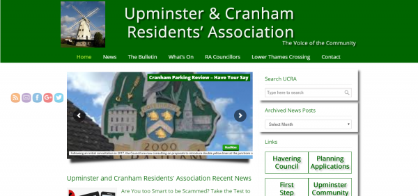 Upminster and Cranham Residents' Association