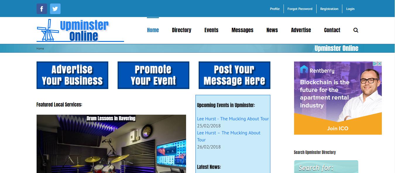 Upminster Online